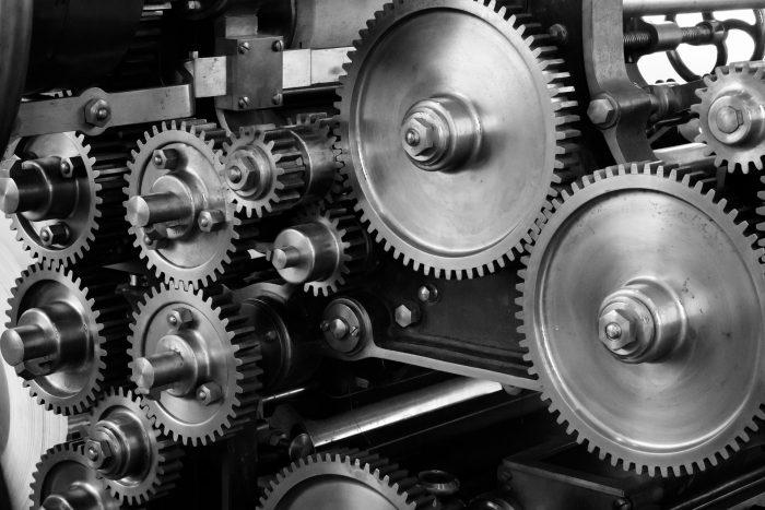many gears
